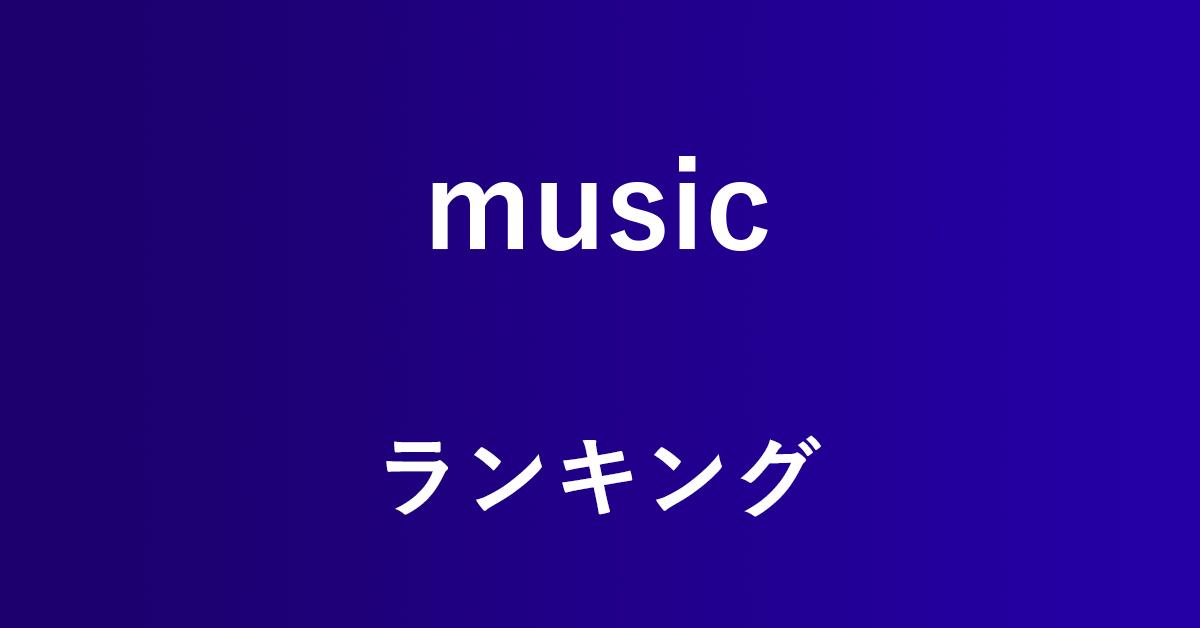 Amazon Musicで人気ランキングを表示する方法