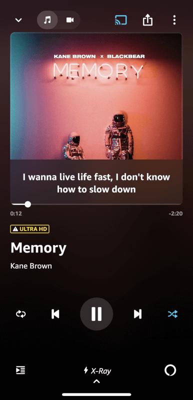 楽曲の再生